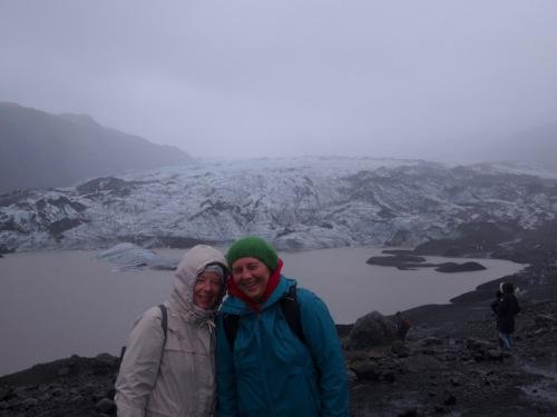 kaaren and me glacier vik