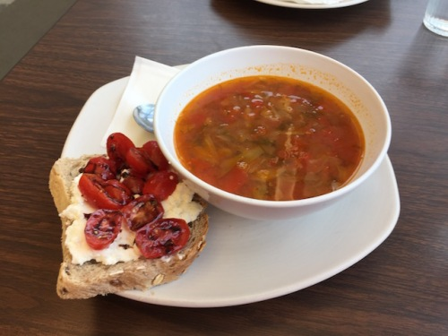 soup and sandwich folio cafe