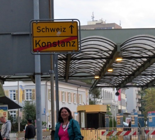 swiss german border