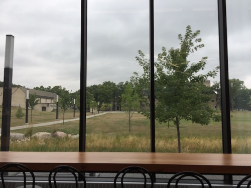 view from cmu cafe
