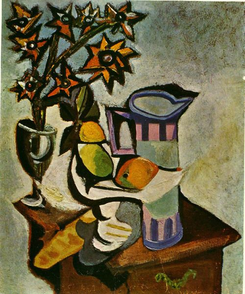 still life by picasso page84