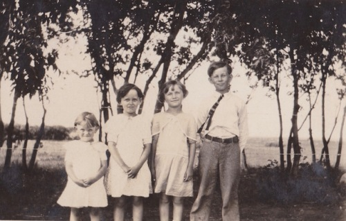 mom and siblings