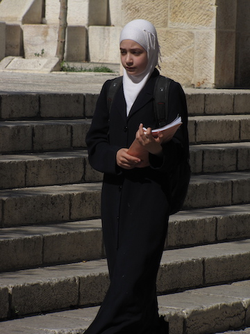 teen in jerusalem