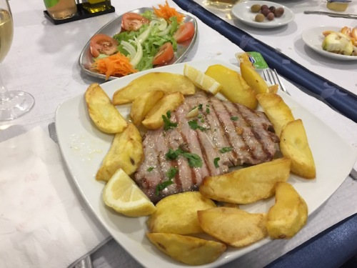 tuna steak lisbon