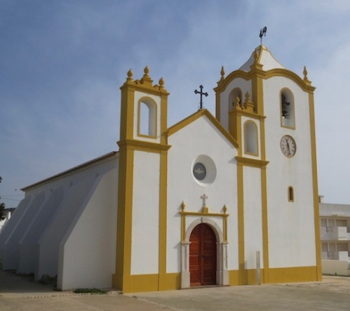 church in praia da luz