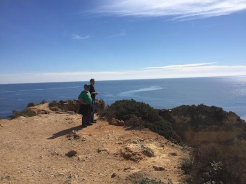 cliff path Ponta Da Piedade