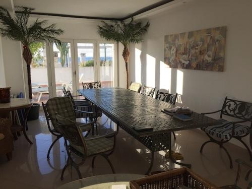 diningroom praia da luz