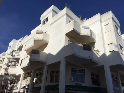 our building in praia da luz