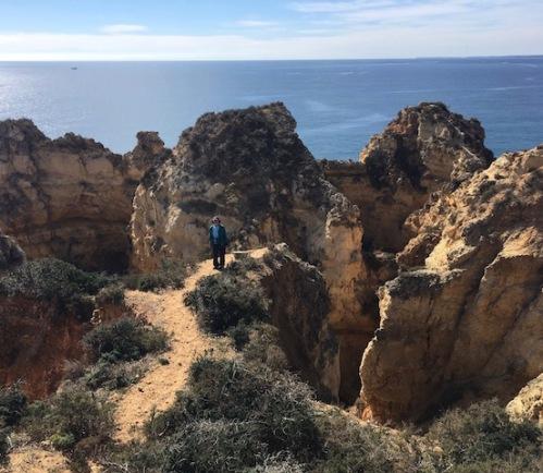 out on the cliff Ponta Da Piedade