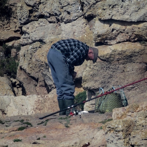 fisherman at sagres