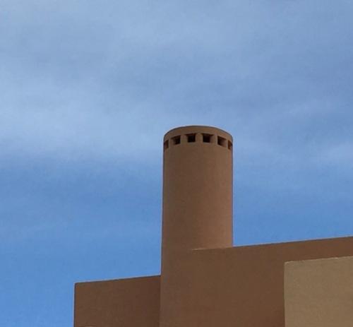 terra cotta chimney