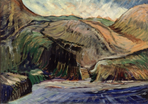 emily carr -cove- winnipeg art gallery