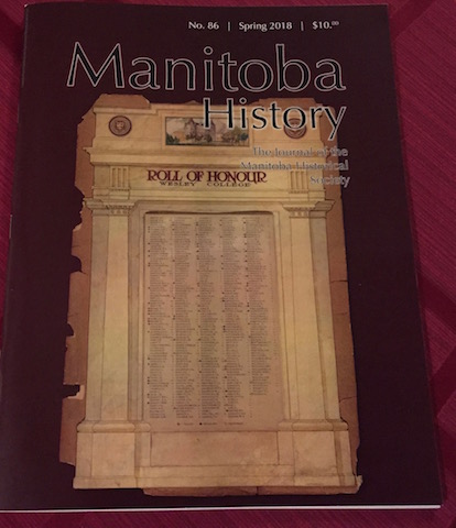manitoba history journal