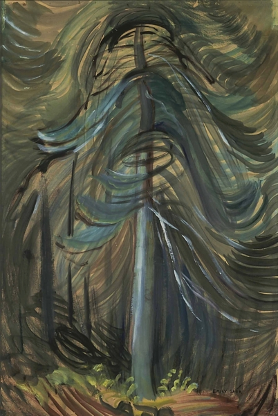 tree movement emily carr 1937-1938