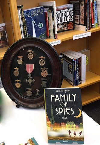 war medals family of spies