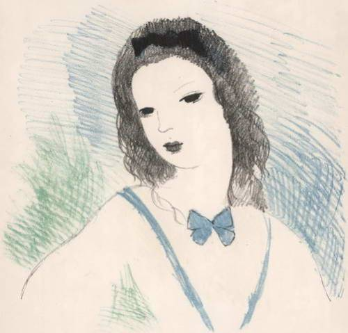 alice in wonderland illustration by marie laurencin