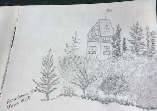 esther's sketch