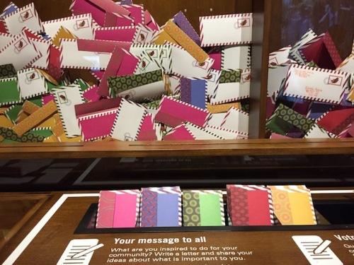 mailbox mandela exhibit