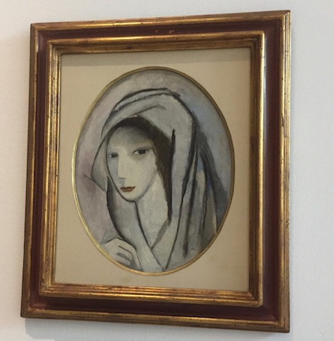 marie laurencin woman in scarf