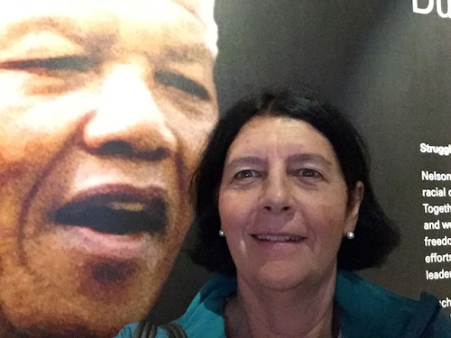 me and nelson mandela