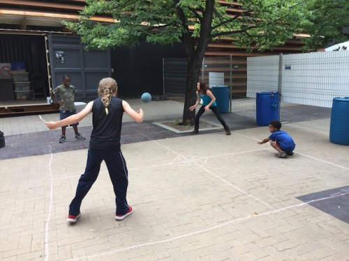 four square at the fringe