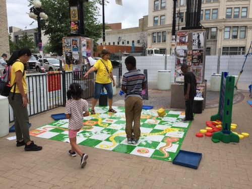 snakes and ladders at the fringe