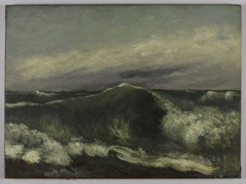 the wave courbet