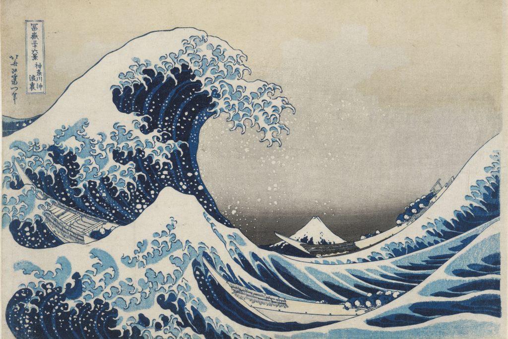 the wave Hokusai