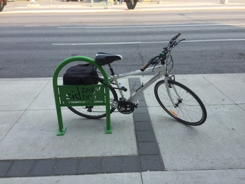 bike rack winnipeg