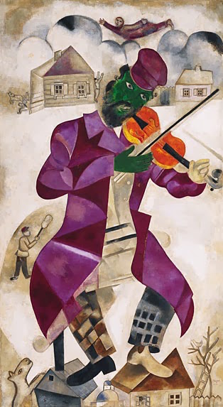 chagall-The-green_violinist