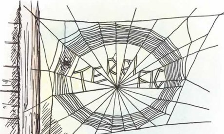 charlotte spins a web in charlotte's web