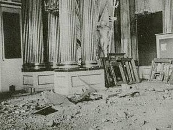 hermitage hall during seige