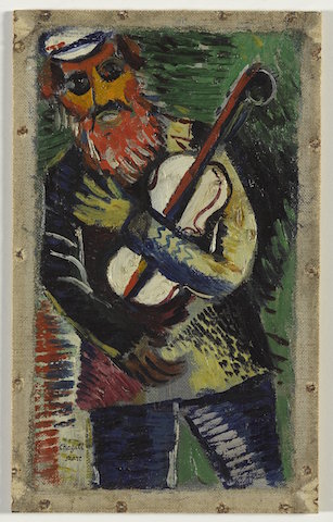 marc chagall the musician brooklyn museum no copyright restrictions