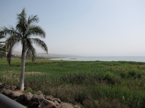 near sea of galilee