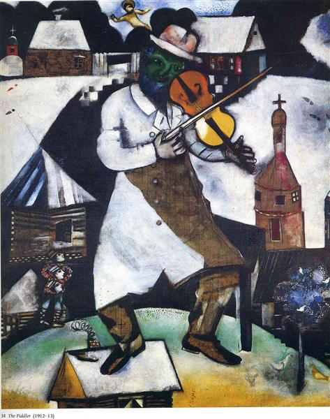 the fiddler marc chagall