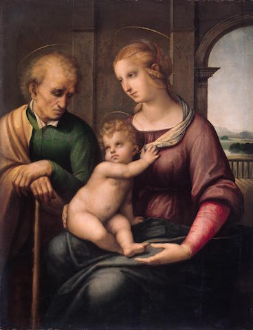the holy family by raphael hermitage