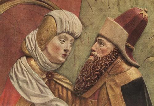 Veit Stoss_St. Mary altar_joachim&Anne_Crawcow, Church of St. Mary_1477-89