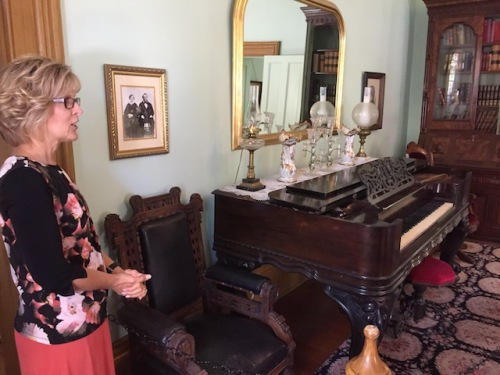 amelia's piano brigham young house