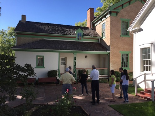 brigham young house st. george