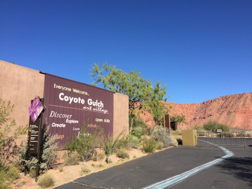 coyote gulch art village