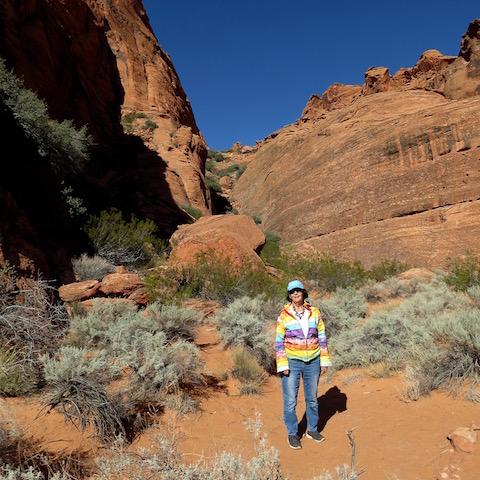 hiking jenny's cayon utah