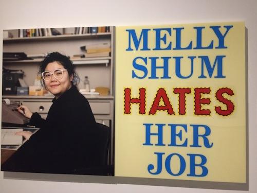 ken lum molly shum hates her job