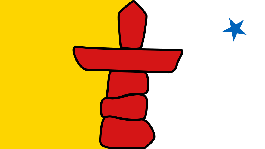 881px-Flag_of_Nunavut