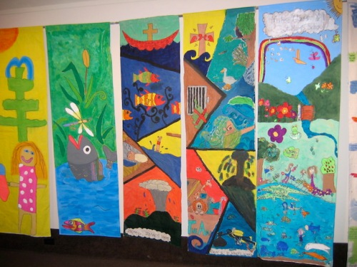 artwork by new zealand school children