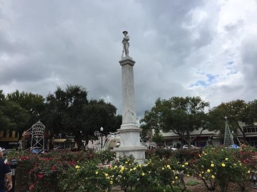 confederate solidier lakeland florida munn park