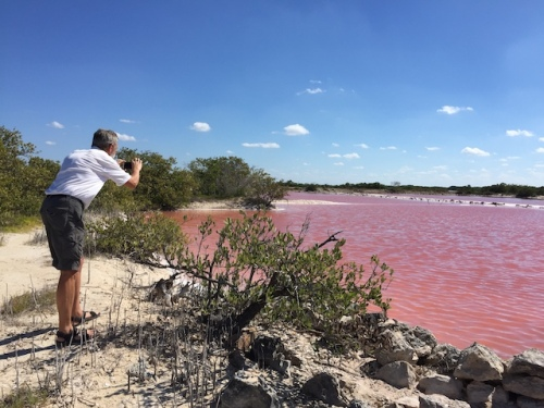 pink lakes of progresso