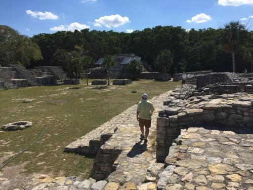 ruins at xcambo