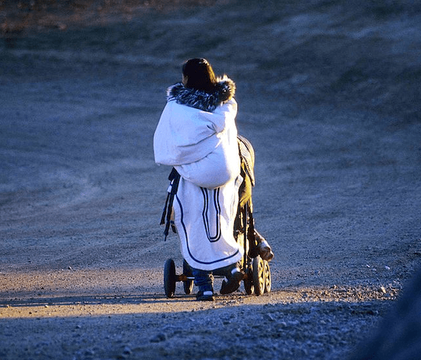 woman-with-amautik-and-stroller-wiki-commons.png