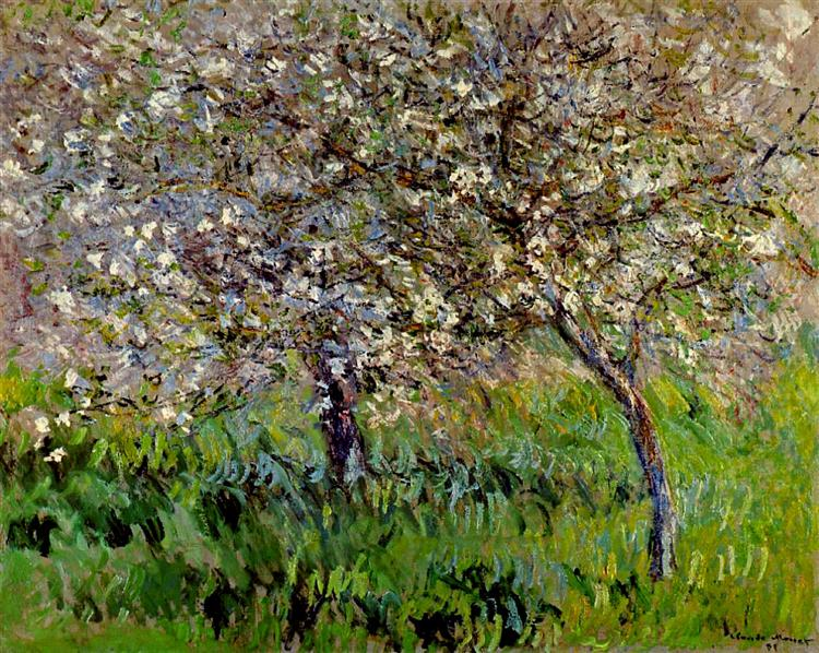 public domain apple-trees-in-bloom-at-giverny-1901(1).jpg!Large