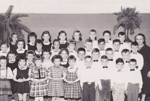 grade one class at marion school 1958-1959